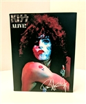 KISS ALIVE! Paul Stanley 8x10 canvas print wall art Rock n Roll collectible