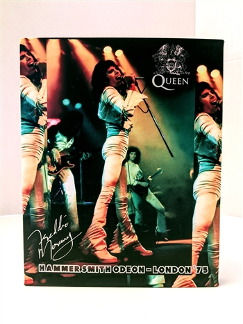 QUEEN Freddie Mercury Hammersmith Odeon London 1975 8x10 canvas print wall art Rock n Roll collectible