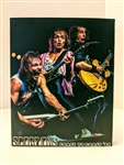 SCORPIONS Coast To Coast 1984 8x10 canvas print wall art Rock n Roll collectible