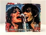 ROLLING STONES Mick Jagger & Keith Richards 8x10 canvas print wall art Rock n Roll collectible