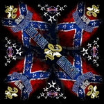 Dont Tread On Rock n Roll Bandana rock n roll heavy metal biker