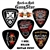 Rock-n-Roll GangStar Guitar picks 1 dozen