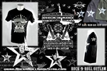Rock n Roll Outlaw Mens T Shirt