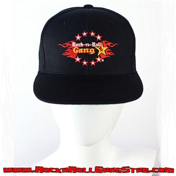 Snap Back Ball Cap with Rock-n-Roll GangStar logo