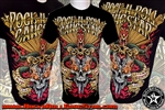 Snakes n Skull Rock n Roll Heavy Metal Mens T Shirt Rock n Roll GangStar