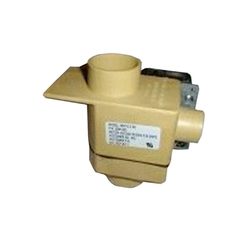 "Wascomat Drain Valve, 2""  With Overflow 220-240 V"