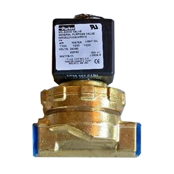 "F8521601 Kit W/Din,Valve, 1/2"" Brass Din 120/60"