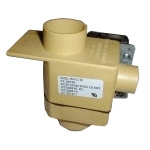"WS-921964 - Wascomat Drain Valve, 2"" With Overflow 115V 60Hz"