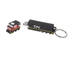Clé USB 8Go - en locomotive 3D