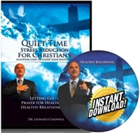 Quiet Time Christian Stress Reduction Program PDF & mp3