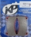 Intrepid / Ital Carbon 222 Brake Pads