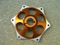 Sprocket Carrier Freeline Birel 25mm Gold 5850.00.01