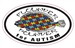 Flounder Pounder for Autism Decal
