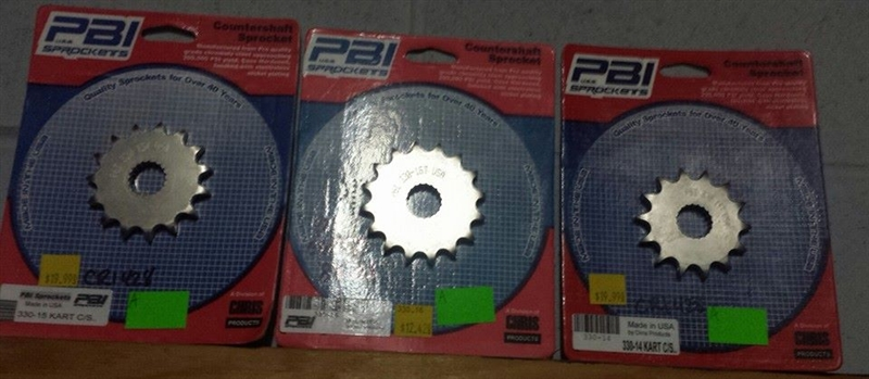 PBI CR125 #428 Sprockets