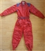USED Red Sparco Rookie Suit Size 140