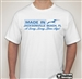 Made In Jacksonville Beach A Long.... T-shirt