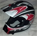 Z1R Helmet White/red/gray/black Youth  NOS