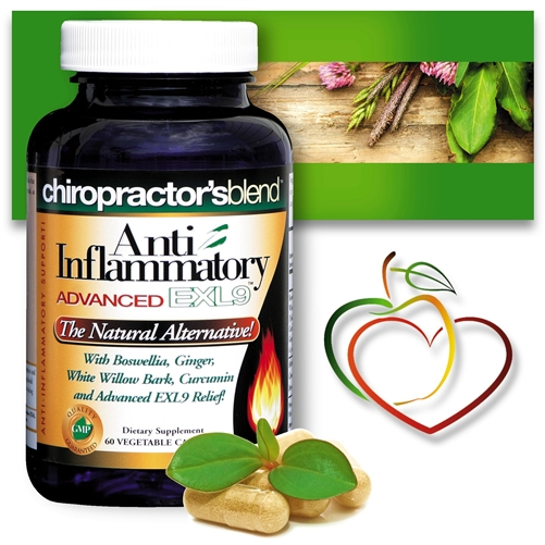 <strong>Anti-Inflammatory Advanced EXL9</strong><br>The Natural Inflammation Reducer</strong>
