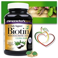 <strong>New!! Biotin Ultra 10,000 - #1 Daily Support <strong><br> with Pure Coconut Oil </strong><br>