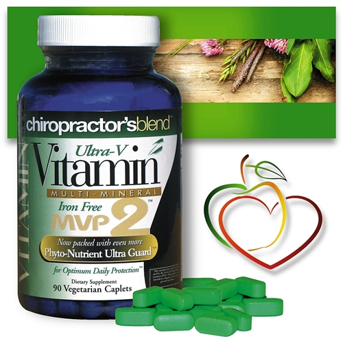 <strong>Multivitamin Multimineral MVP2</strong><br>Iron Free Daily Multi Vitamin  <br><strong>NEW LOWER PRICE!</strong>