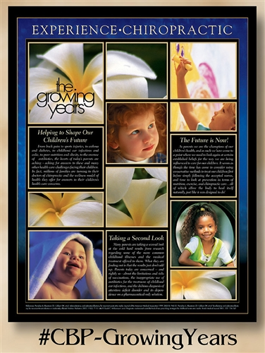 The Growing Years: Helping to Shape Our Children's Future 22 x 28 (non-laminated)
