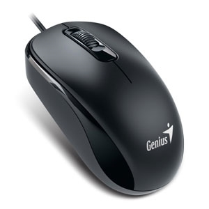 Genius USB 1000dpi Optical Mouse (DX-110) Black