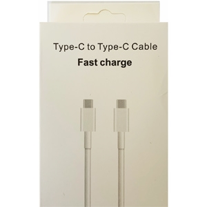 Type-C to Type-C Cable Fast Charge 1M