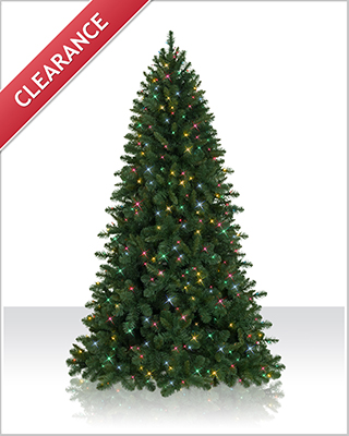 7 Foot Pre lit Fraser Fir  Artificial Christmas Tree