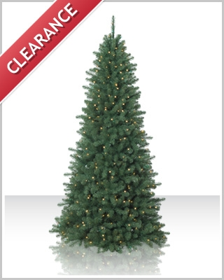 7.5 Foot Emerald Fir Clear Christmas Tree