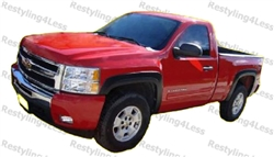 2007-2013 Chevrolet Silverado 1500, 2007-2014 Chevrolet Silverado 2500HD, 3500HD 78.7/97.6 Regular/Long Bed Fender Flares - Factory Style