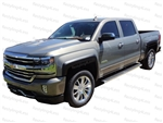 2015-2017 Chevrolet Silverado 2500/3500 Fender Flares - Smooth Finish - Factory Style