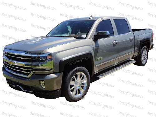 2015 2017 Chevrolet Silverado 2500 3500 Fender Flares Smooth