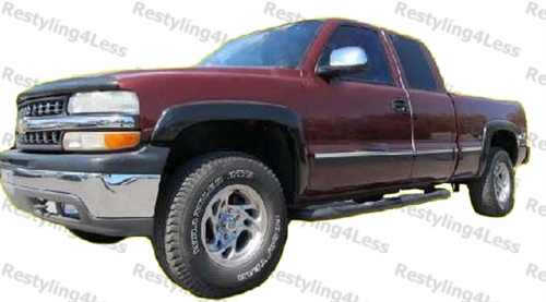 1999 2006 Chevrolet Silverado 2007 Chevrolet Silverado Classic Fender Flares Smooth Finish Factory Style