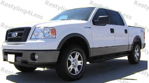 2004 2008 Ford F 150 Fender Flares Smooth Finish Factory Style