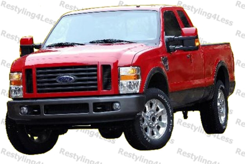 2008 2010 Ford F 250 F 350 Superduty Fender Flares Factory Style