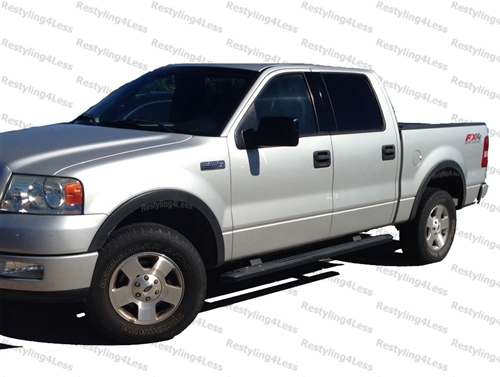 2004 2008 Ford F 150 Fender Flares Oe Smooth Grained Finish Factory Style