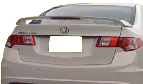PAINTED REAR SPOILER FOR AN ACURA TSX FACTORY STYLE 2009-2014