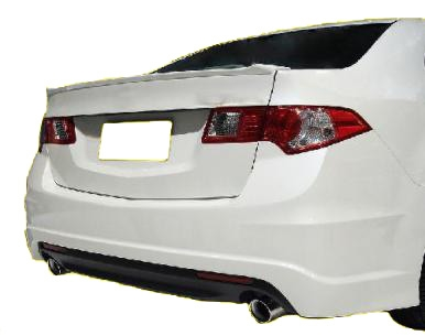 2013 acura tsx factory lip style spoiler alternative views sciox Image collections