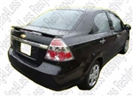 2007-2011 Chevrolet Aveo 4Dr Factory Style Spoiler with LED Light