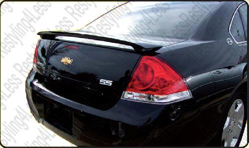 2006 Chevrolet Impala Ss >> 2006-2012 Chevrolet Impala SS Factory Style Spoiler