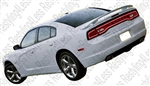 2011-2012 Dodge Charger Factory Daytona R/T SRT8 Style Spoiler