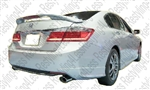 2013-2014 Honda Accord 4dr Factory Style Spoiler with LED Light (pedestals)