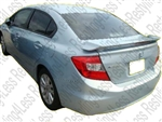 2013-2014 Honda Civic 4dr Factory Style Spoiler with 3rd brake light