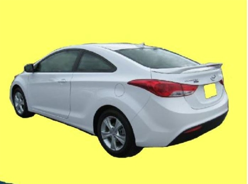 2013 2015 Hyundai Elantra Coupe Factory Style Spoiler With LED 3rd Brake  Light