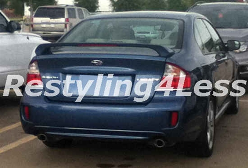 2005 2009 Subaru Legacy 2 Post Factory Style Spoiler With Led 3rd
