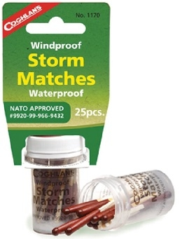 NATO Weatherproof Storm Matches