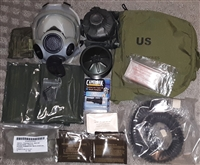 MCU-2/P NBC CBRN Gas Mask Respirator military surplus