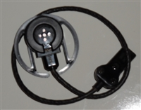 Gas Mask Detachable Microphone and Cable Assembly