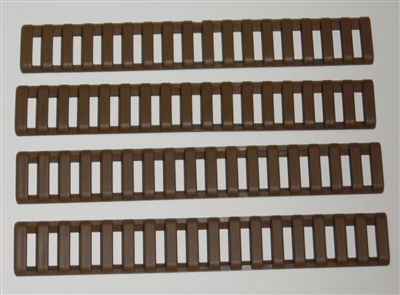 Picatinny Rail Ladder Covers