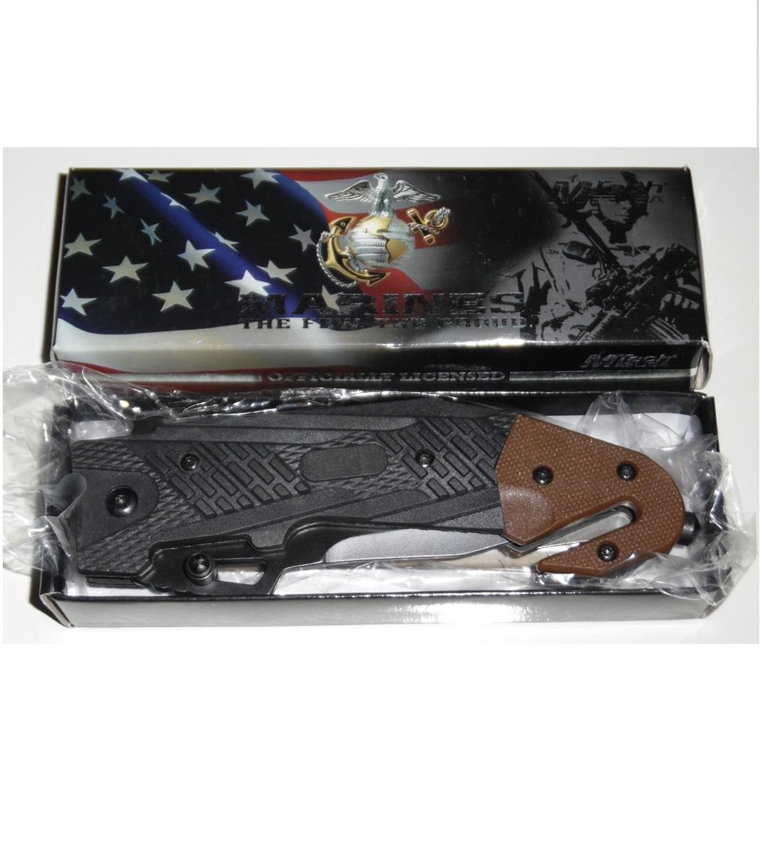 MTech USA Officially Licensed USMC Knife, SideWinder